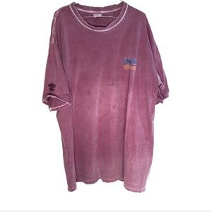 Crazy Wine Dyed Palm Springs short sleeve XXL